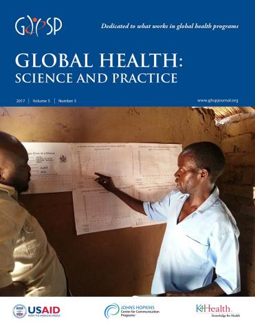 Global Health: Science and Practice: 5 (3)