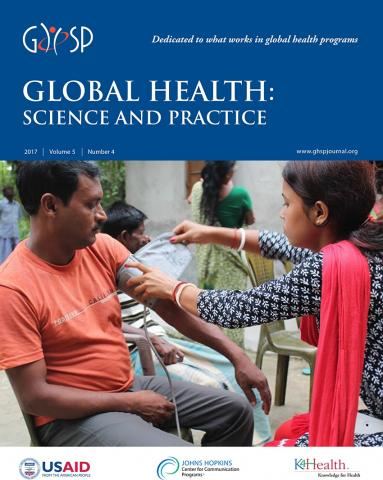 Global Health: Science and Practice: 5 (4)