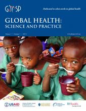 Global Health: Science and Practice: 1 (1)