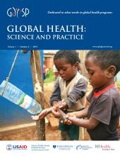 Global Health: Science and Practice: 1 (2)