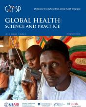 Global Health: Science and Practice: 2 (4)
