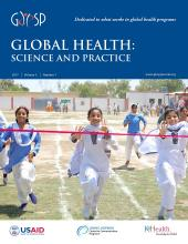 Global Health: Science and Practice: 5 (1)