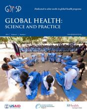Global Health: Science and Practice: 6 (1)