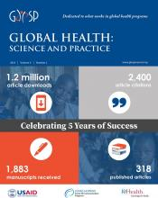Global Health: Science and Practice: 6 (2)