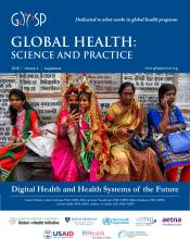 Global Health: Science and Practice: 6 (Supplement 1)