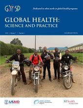 Global Health: Science and Practice: 7 (1)