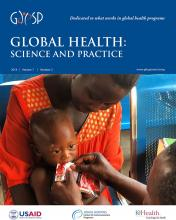 Global Health: Science and Practice: 7 (2)