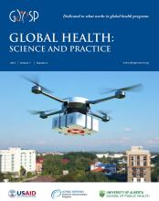 Global Health: Science and Practice: 7 (4)