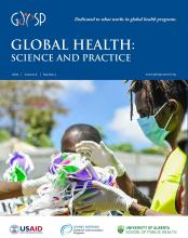 Global Health: Science and Practice: 8 (2)