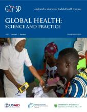 Global Health: Science and Practice: 8 (4)